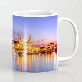 Dresden old town skyline, Germany Coffee Mug