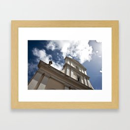 He is there Framed Art Print