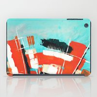 skyline iPad Cases featuring Skyline by Rafael Galue