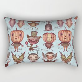 Happy Halloween! Rectangular Pillow
