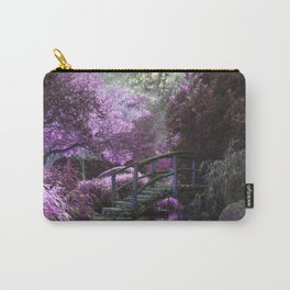 The Bridge Within The Cherry Blossoms Carry-All Pouch