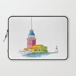 Maiden's Tower, Istanbul Laptop Sleeve