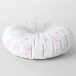 Kawaii Sakura Cherry Blossom Floor Pillow