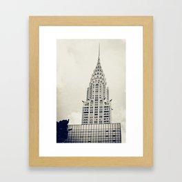 New York: Chrysler Building Framed Art Print