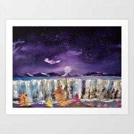 Falls by Night Art Print