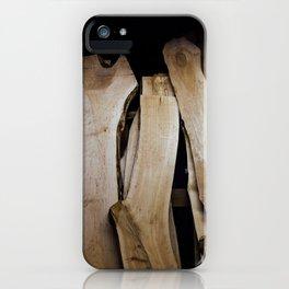 Wood Slabs iPhone Case