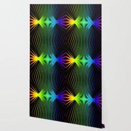 Sound Waves. Neon dark matter wave oscillations Wallpaper