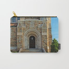 Old West End Our Lady Queen of the Most Holy Rosary Cathedral Door II- horizontal Carry-All Pouch