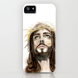 Watercolor Jesus Christ iPhone Case