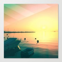 italy Canvas Prints featuring Italy by so_may
