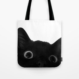 Here's lookin' at mew Tote Bag
