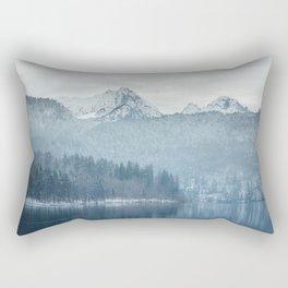 Lake and mountains - Bavarian Alps Rectangular Pillow