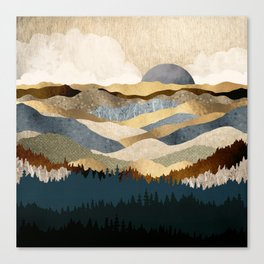 Golden Vista Canvas Print