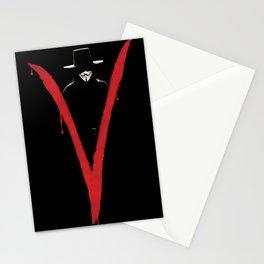 V for Vendett (e6) Stationery Cards