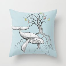 I Leave My Rage   Throw Pillow