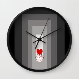 love from the deep Wall Clock
