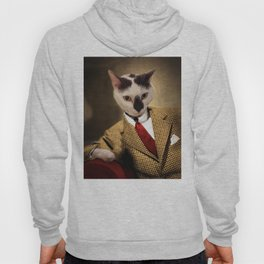 Boo conquers Hollywood - Cat Portrait Hoody