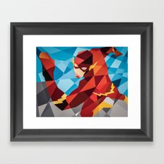 DC Comics Flash Framed Art Print
