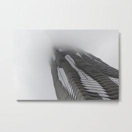 Foggy Chicago Morning 007 Metal Print