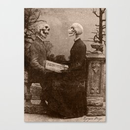 Dark Victorian Portraits: The Last Date Canvas Print