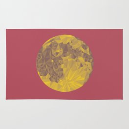 Chinese Mid-Autumn Festival Moon Cake Print Rug