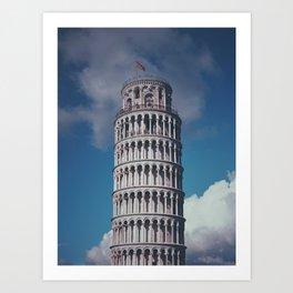Pisa Holiday Art Print
