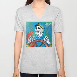 Down With the Ship Unisex V-Neck