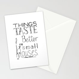 Small Houses Stationery Cards