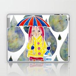 Miranda Holds The Sky In Her Hands Laptop & iPad Skin