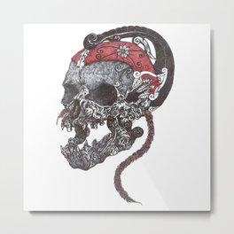 wayang drawing Metal Print