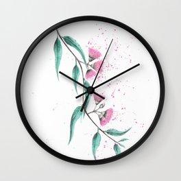 Eucalyptus Lush Wall Clock