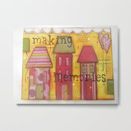 Making Memories Metal Print