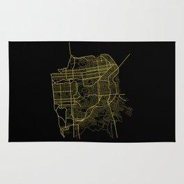 San Francisco Map Rug
