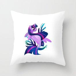 Seapony Twilight Sparkle Crewneck Throw Pillow