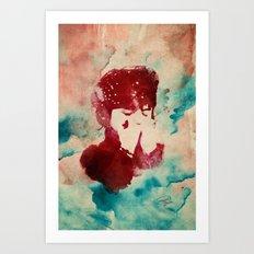 Nanou II Art Print