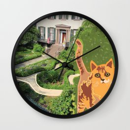 Harry Kumar visits Andrew Low Wall Clock