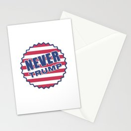Never Trump (2) Stationery Cards