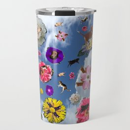 animalflowers amok Travel Mug