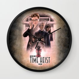 Doctor Who: Time Heist Wall Clock