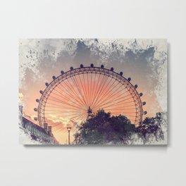 London city art 4 #london #city Metal Print