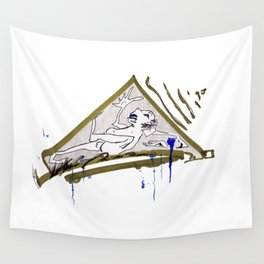 Buried Alive Wall Tapestry