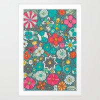 Chicles y caramelos Art Print
