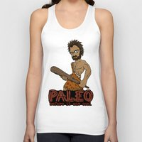 crossfit Tank Tops featuring Paleo Before It Was Cool Crossfit Design by RonkyTonk by RonkyTonk