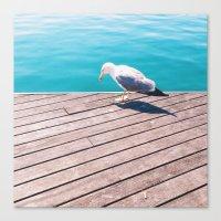 mew Canvas Prints featuring Mew by Pawel Nolbert / nolbert.com