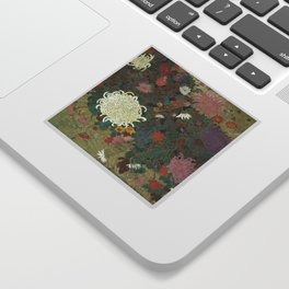 flower【Japanese painting】 Sticker