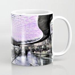 Kings Cross Station Art Coffee Mug