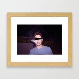 Smoker #2 Framed Art Print