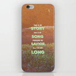 My Story iPhone Skin