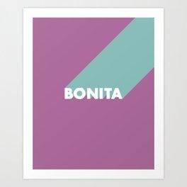 BONITA Spring Art Print