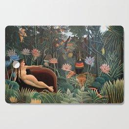 Henri Rousseau - The Dream Cutting Board